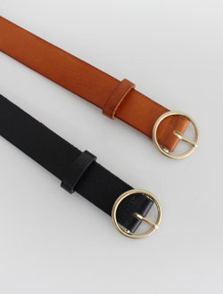 Simple belt ; 2 color