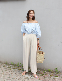 Verdy linen pants ; 2 color
